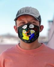 pythagoras and einstein mas Cloth Face Mask - 3 Pack aos-face-mask-lifestyle-06