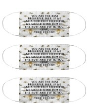 beekeeper your colony mas  Cloth Face Mask - 3 Pack front