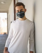 human resource shirt solve problems mas  Cloth Face Mask - 3 Pack aos-face-mask-lifestyle-10