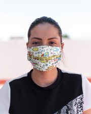 kindergarten I am mas Cloth Face Mask - 3 Pack aos-face-mask-lifestyle-03