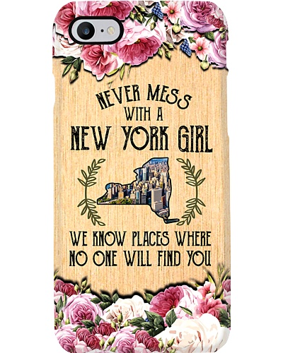 new york girl don't mess phonecase