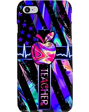 teacher neon Phone Case i-phone-8-case