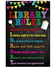 library-rudes 11x17 Poster front