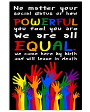 Equality LGBT by poster 11x17 Poster front