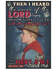Boy Scout Lord Send Me 11x17 Poster front