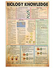 3biology-knowledge 11x17 Poster front