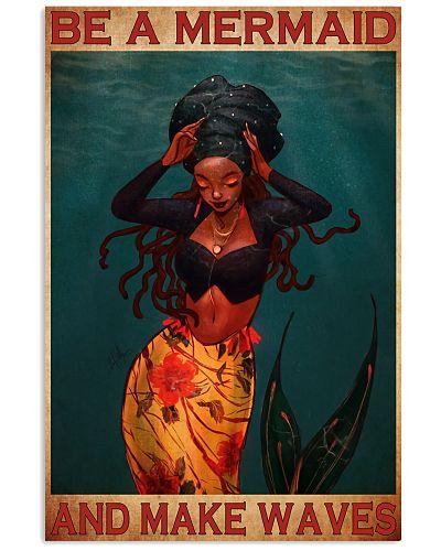 black mermaid make waves