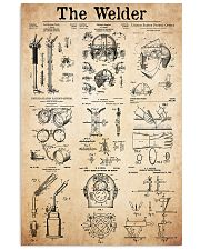 welder patent 11x17 Poster front