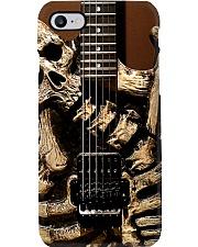 Georg Lync Dokke Skull n' Bone ES guitar dvhh ngt Phone Case i-phone-8-case
