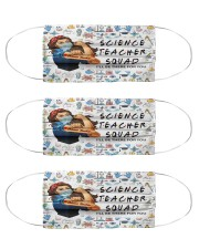 science squad mas Cloth Face Mask - 3 Pack front