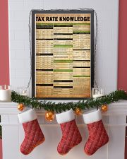 Tax advisor - Tax rate knowledge 24x36 Poster lifestyle-holiday-poster-4
