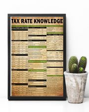 Tax advisor - Tax rate knowledge 24x36 Poster lifestyle-poster-8