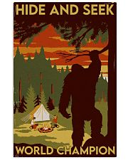 big foot hide and seek champion 11x17 Poster front