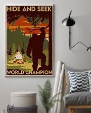 big foot hide and seek champion 11x17 Poster lifestyle-poster-1