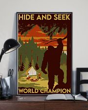 big foot hide and seek champion 11x17 Poster lifestyle-poster-2