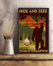 big foot hide and seek champion 11x17 Poster lifestyle-poster-3