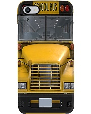 school bus front pc lqt ngt Phone Case i-phone-8-case