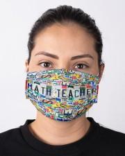 math teacher plates mas Cloth Face Mask - 3 Pack aos-face-mask-lifestyle-01
