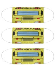 school bus driver bus mas Cloth Face Mask - 3 Pack front