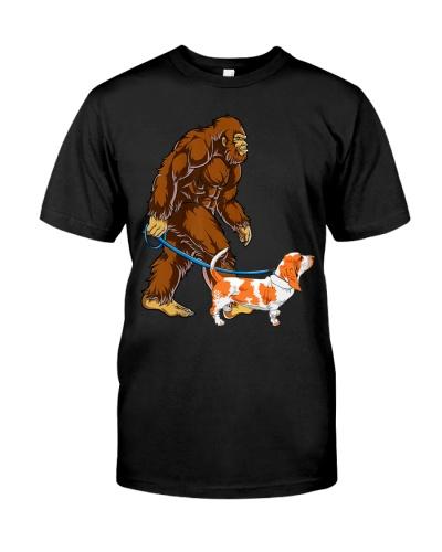 Bigfoot Sasquatch Walking Basset