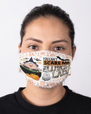 lunch lady you can't scare me mas  Cloth Face Mask - 3 Pack aos-face-mask-lifestyle-01