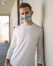 Secretary vintage mas  Cloth Face Mask - 3 Pack aos-face-mask-lifestyle-10