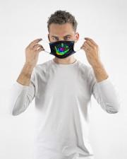 sign language colorful mandala mas  Cloth Face Mask - 3 Pack aos-face-mask-lifestyle-08