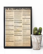 FIN 531 Corporate Finance 24x36 Poster lifestyle-poster-8