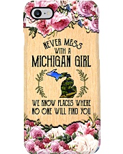 michigan girl don't mess phonecase Phone Case i-phone-7-case