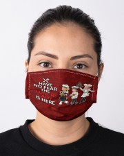 lunch lady have no fear mas Cloth Face Mask - 3 Pack aos-face-mask-lifestyle-01
