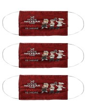 lunch lady have no fear mas Cloth Face Mask - 3 Pack front