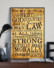 scout oath poster 11x17 Poster lifestyle-poster-2