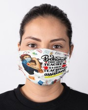 teaching assistant behind every good teacher mas  Cloth Face Mask - 3 Pack aos-face-mask-lifestyle-01
