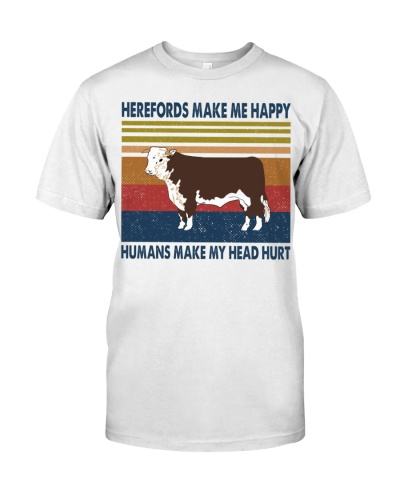 cow make me happy hereford