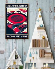 vinyl racing easily distracted by pt mttn-pml 11x17 Poster lifestyle-holiday-poster-2