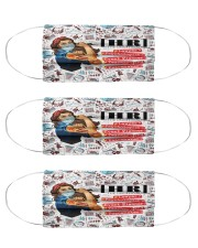 human resources unofficial mas Cloth Face Mask - 3 Pack front