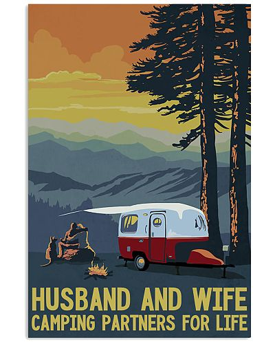 camping husband and wife