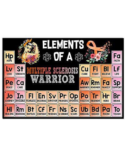 Element of Multiple Sclerosis warrior