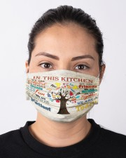 lunch lady this kitchen mas Cloth Face Mask - 3 Pack aos-face-mask-lifestyle-01