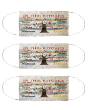 lunch lady this kitchen mas Cloth Face Mask - 3 Pack front