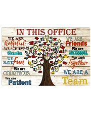 accountant poster office 17x11 Poster front