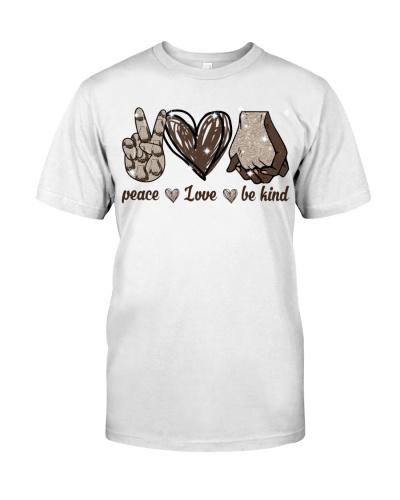 black peace love be kind