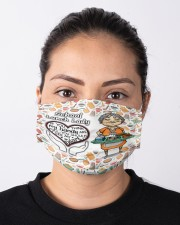 Lunch lady my heart is full mas Cloth Face Mask - 3 Pack aos-face-mask-lifestyle-01