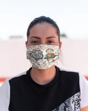 Lunch lady my heart is full mas Cloth Face Mask - 3 Pack aos-face-mask-lifestyle-03