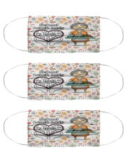 Lunch lady my heart is full mas Cloth Face Mask - 3 Pack front