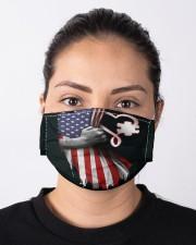 autism us flag mas Cloth Face Mask - 3 Pack aos-face-mask-lifestyle-01
