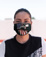 autism us flag mas Cloth Face Mask - 3 Pack aos-face-mask-lifestyle-03