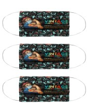 human resources vintage mas  Cloth Face Mask - 3 Pack front