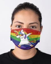 unicorn lgbt mas  Cloth Face Mask - 3 Pack aos-face-mask-lifestyle-01