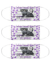 fibromyalgia Everything hurts Cloth Face Mask - 3 Pack front